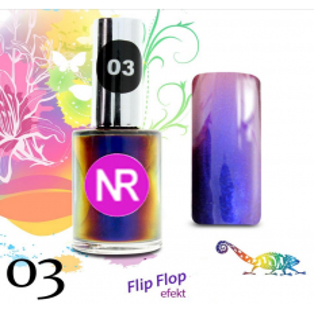 Lak na nechty Flip - Flop 3 NechtovyRAJ.sk - Daj svojim nechtom všetko, čo potrebujú