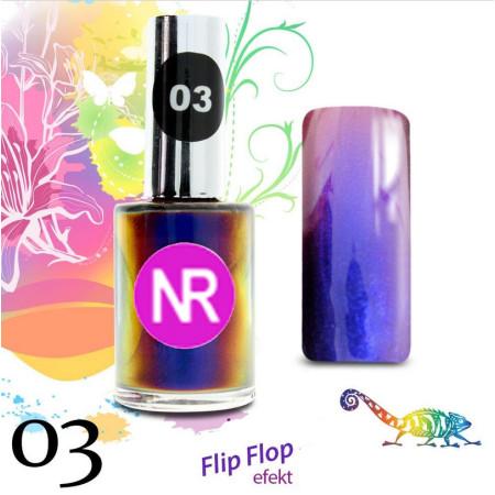 Lak na nechty Flip - Flop 3