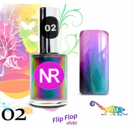 Lak na nechty Flip - Flop 2