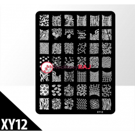 Doštička M typ XY12 NechtovyRAJ.sk - Daj svojim nechtom všetko, čo potrebujú