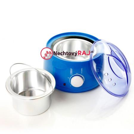 Ohrievač depilačných voskov modrý