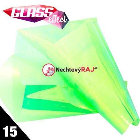 Glass Nail Fólia 15