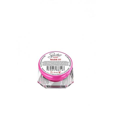 Semilac expert uv gél nude 01  - 5 ml