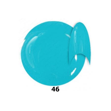 NTN farebný gél lak 46 modrý 6 ml