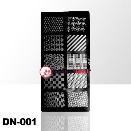 Doštička na pečiatkovanie DN001 NechtovyRAJ.sk - Daj svojim nechtom všetko, čo potrebujú