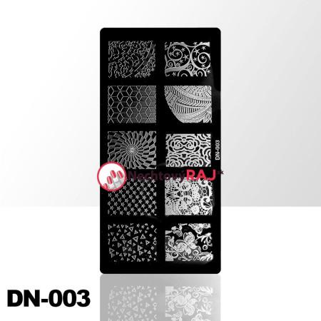 Doštička na pečiatkovanie DN003 NechtovyRAJ.sk - Daj svojim nechtom všetko, čo potrebujú