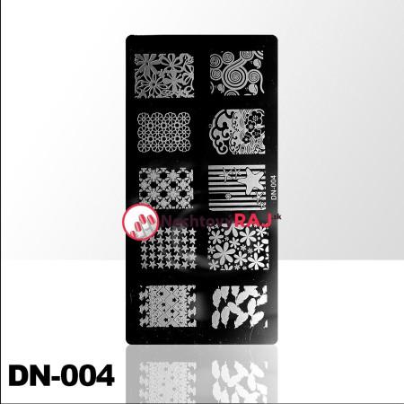 Doštička na pečiatkovanie DN004 NechtovyRAJ.sk - Daj svojim nechtom všetko, čo potrebujú