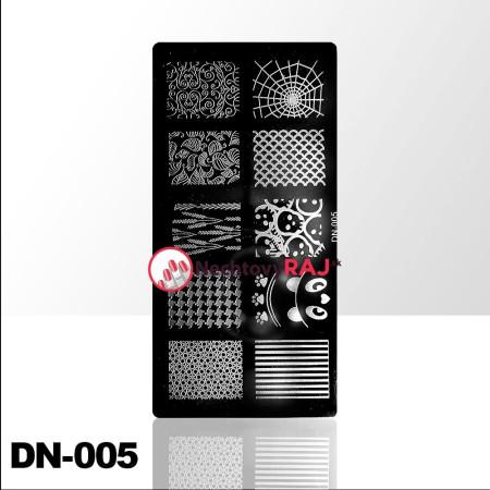 Doštička na pečiatkovanie DN005 NechtovyRAJ.sk - Daj svojim nechtom všetko, čo potrebujú