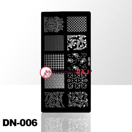 Doštička na pečiatkovanie DN006 NechtovyRAJ.sk - Daj svojim nechtom všetko, čo potrebujú