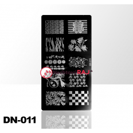 Doštička na pečiatkovanie DN011 NechtovyRAJ.sk - Daj svojim nechtom všetko, čo potrebujú