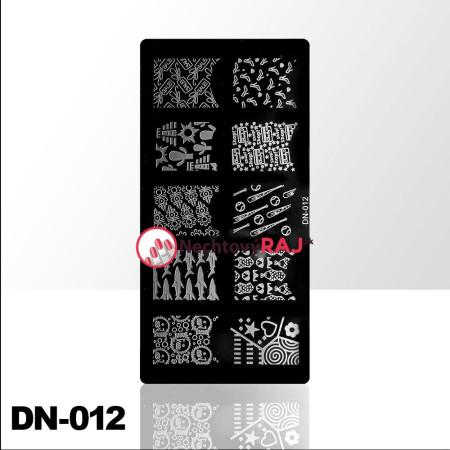 Doštička na pečiatkovanie DN012 NechtovyRAJ.sk - Daj svojim nechtom všetko, čo potrebujú