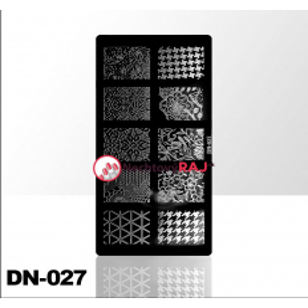 Doštička na pečiatkovanie DN027 NechtovyRAJ.sk - Daj svojim nechtom všetko, čo potrebujú