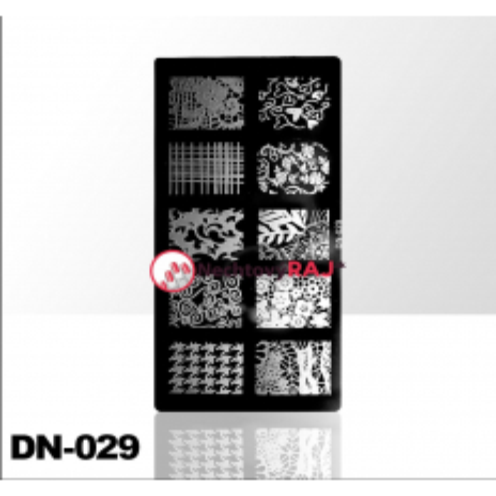 Doštička na pečiatkovanie DN029 NechtovyRAJ.sk - Daj svojim nechtom všetko, čo potrebujú