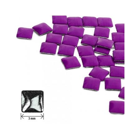 Ozdoby štvorec - neón fialové