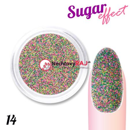 Prášok Sugar effect 14 NechtovyRAJ.sk - Daj svojim nechtom všetko, čo potrebujú