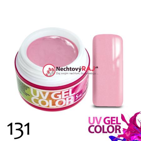Farebný uv gél perleťový 131    5g