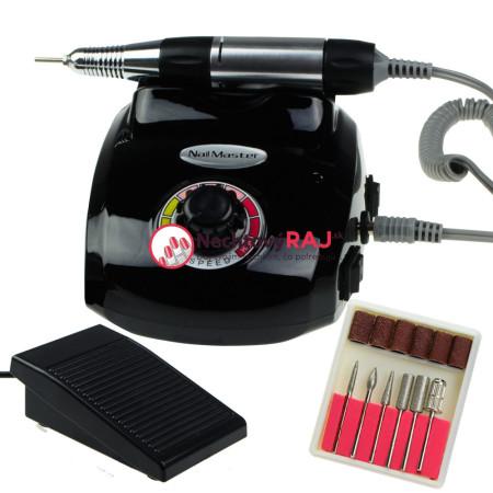 Elektrická brúska na nechty DM208 - 35 W čierna NechtovyRAJ.sk - Daj svojim nechtom všetko, čo potrebujú