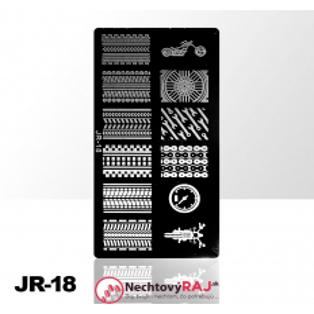 Doštička S typ JR-18 NechtovyRAJ.sk - Daj svojim nechtom všetko, čo potrebujú
