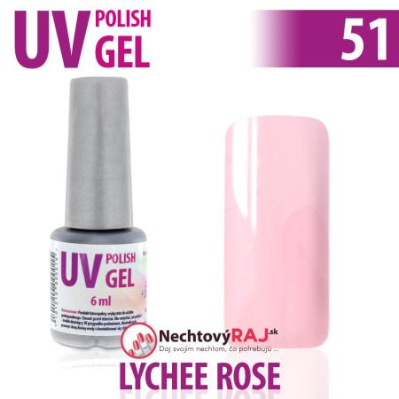 Farebný Gél lak 51 - ružový