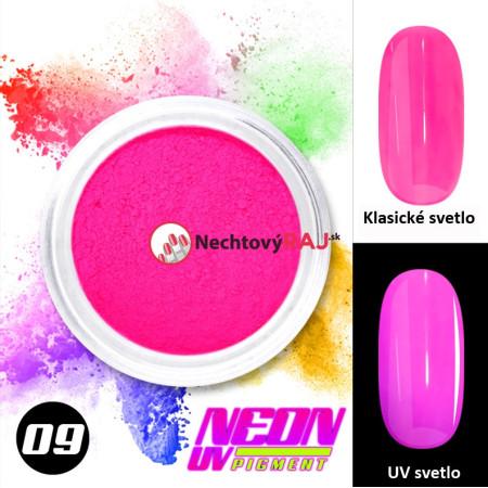 09. Neónový UV pigment