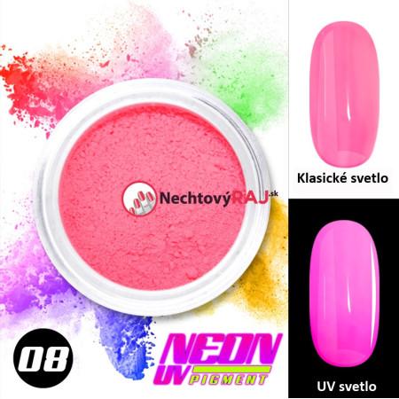08. Neónový UV pigment NechtovyRAJ.sk - Daj svojim nechtom všetko, čo potrebujú