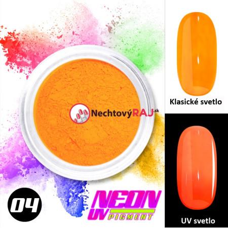 04. Neónový UV pigment NechtovyRAJ.sk - Daj svojim nechtom všetko, čo potrebujú
