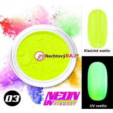 03. Neónový UV pigment NechtovyRAJ.sk - Daj svojim nechtom všetko, čo potrebujú