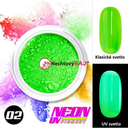 02. Neónový UV pigment NechtovyRAJ.sk - Daj svojim nechtom všetko, čo potrebujú