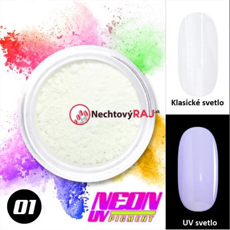 01. Neónový UV pigment