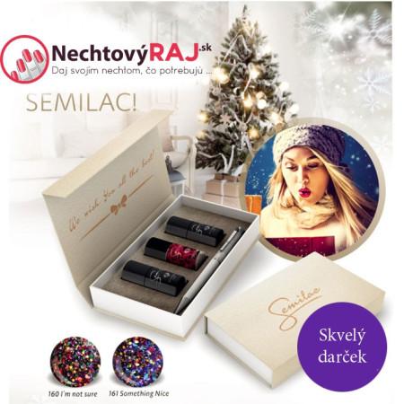 Semilac darčekový set 01 NechtovyRAJ.sk - Daj svojim nechtom všetko, čo potrebujú