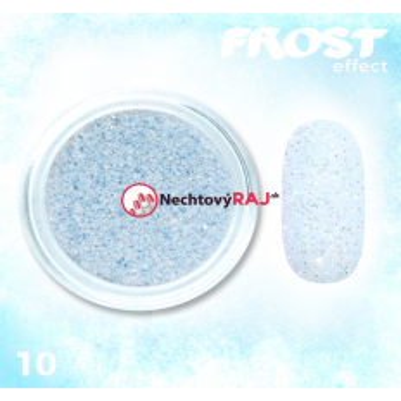 10. Prášok s efektom frosty - námrazy