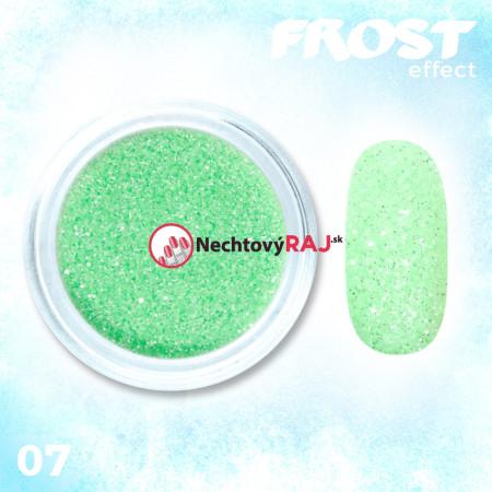 07. Prášok s efektom frosty - námrazy