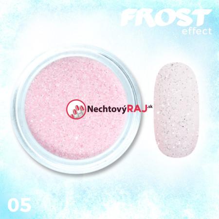 05. Prášok s efektom frosty - námrazy
