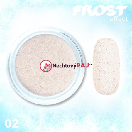 02. Prášok s efektom frosty - námrazy