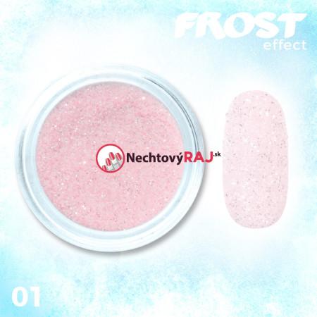 01. Prášok s efektom frosty - námrazy