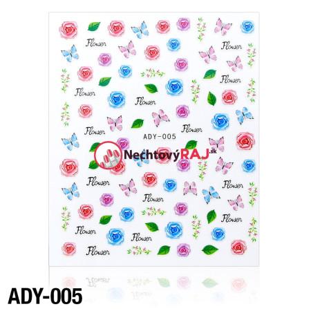 3D nálepky ADY-005