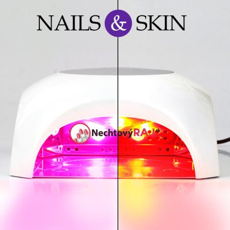 LED LAMPA 56 W - Nail and skin biela