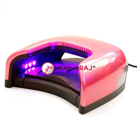 LED LAMPA IMJ 24 LED - 48 W - ružová