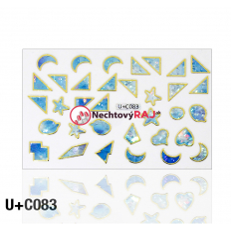 3D nálepky C083 NechtovyRAJ.sk - Daj svojim nechtom všetko, čo potrebujú