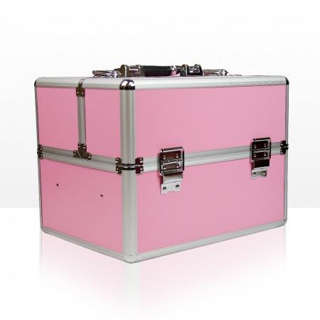 Kozmetický kufrík - slabo ružový - NechtovyRAJ.sk
