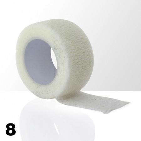 Ochranná páska na prsty - biela 5 ks
