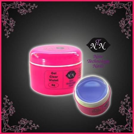 NTN UV gél na nechty Clear violet 5ml