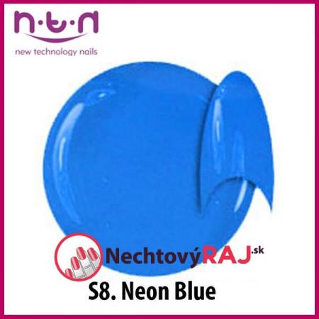 NTN farebný neonový uv gél S8 5g NechtovyRAJ.sk - Daj svojim nechtom všetko, čo potrebujú