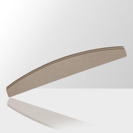 Pilník na nechty penový - loďka šedý 100/180 NechtovyRAJ.sk - Daj svojim nechtom všetko, čo potrebujú