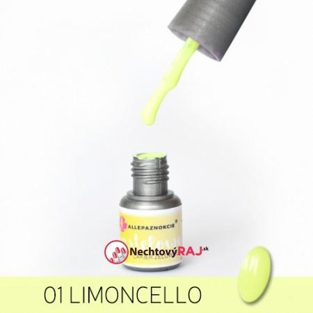 Pastelový Gél lak AP 01 - Limoncello