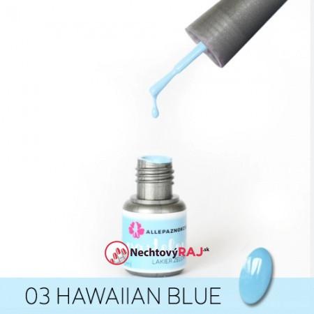 Pastelový Gél lak AP 03 - Hawaian Blue
