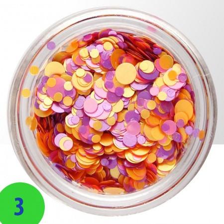 Konfety mix 3 NechtovyRAJ.sk - Daj svojim nechtom všetko, čo potrebujú