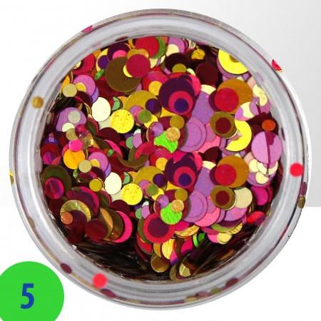 Konfety mix 5 NechtovyRAJ.sk - Daj svojim nechtom všetko, čo potrebujú