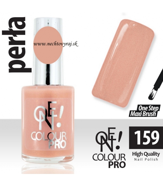 Lak na nechty-ONE COLOUR PERLA 159