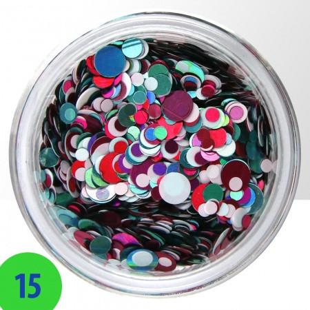 Konfety mix 15 NechtovyRAJ.sk - Daj svojim nechtom všetko, čo potrebujú